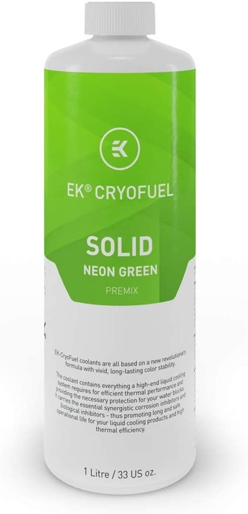 EKWB EK-CryoFuel Solid Premix Coolant, 1000mL, Neon Green