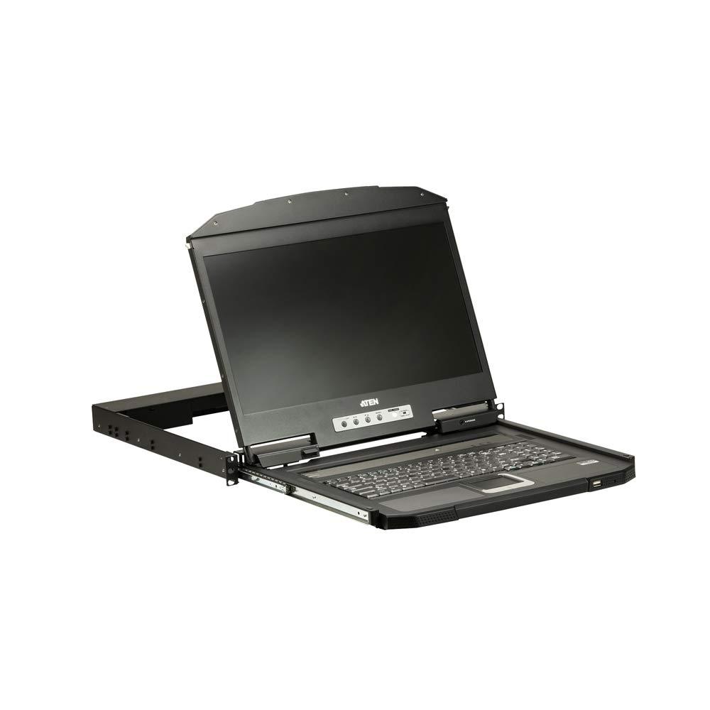 Aten CL3100NX 19IN Ultra Short Depth Wide SCRN LCD Console VGA/USB