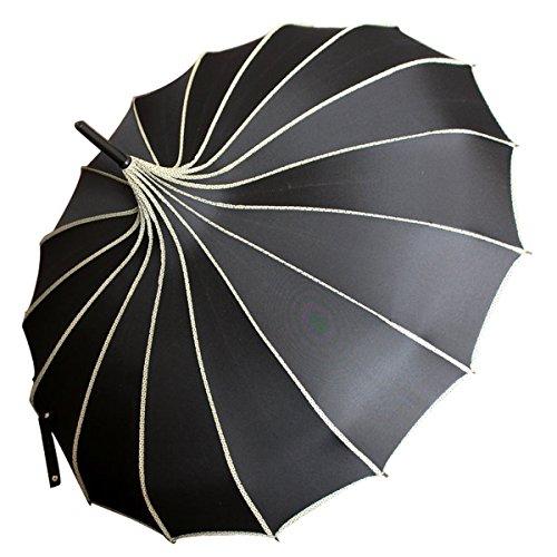 VIVI SKY Pagoda Peak Old-fashionable Ingenuity Umbrella Parasol