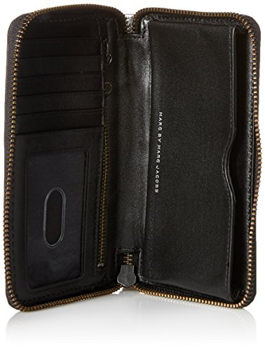 Marc by Marc Jacobs New Q Shine Wingman Wristlet, Silver, One Size by Marc by Marc Jacobs (Image #4)