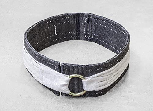 Men's Deadlift Belt - Nylon, Powerlifting, Weightlifting
