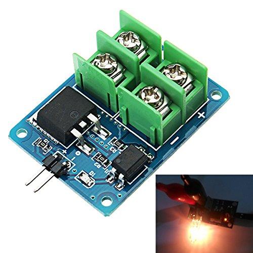 ILS - 3V 5V Low Control High Voltage 12V 24V 36V MOS Field Effect Transistor Modulo Electronic Switch Modu I LOVE SHOPPING