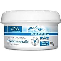 Parafina Protetora Parafina e Algodão, D'agua Natural, 260 g