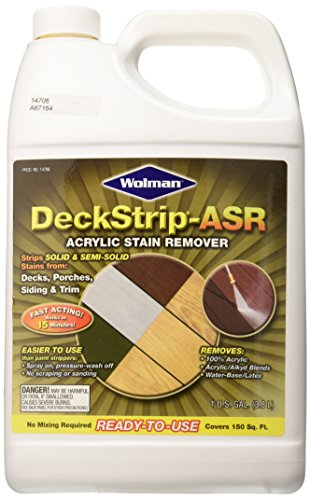 Old Masters 162782 Deck Strip Acrylic Stain Remover