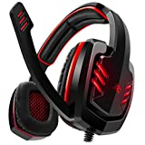 Sentey Arrow Universal Gaming Headset 7.1 USB DAC 7 RGB LED Colors with In-line Volume Control & Microphone (GS-4522)