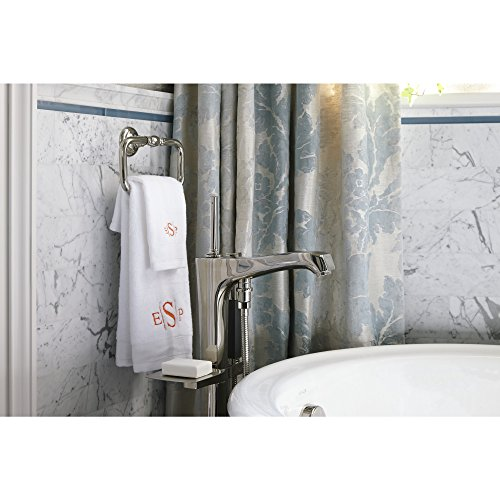 KOHLER K-72571-SN Artifacts Towel ring, Vibrant Polished Nickel by Kohler (Image #3)