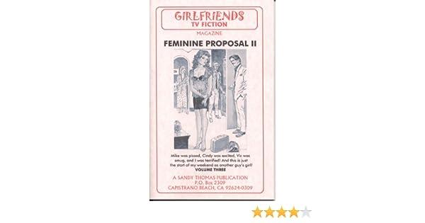 Feminine Proposal III (GIRLFRIENDS TV FICTION) book download