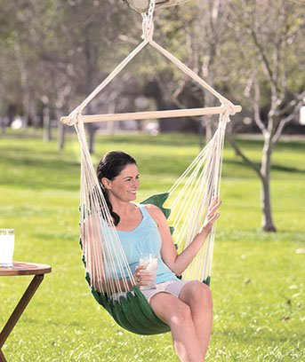 chair swing hammock shop blue moontree rope hanging bed