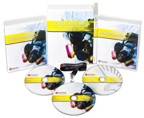 NORM (Naturally Occurring Radioactive Materials) Awareness Safety DVD with Optional Training Kit Complete Package ()