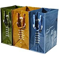 Perfetto Contenitore 3 Scomparti Ricicla Bag