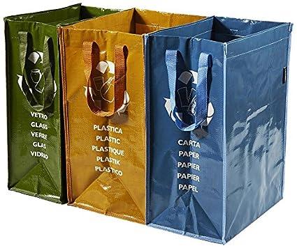 Perfetto Contenitore 3 Scomparti Ricicla Bag La Piacentina 0468D_