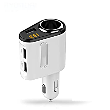 E-KIA Cargador Portatil Movil Coche USB,Cargador del Coche ...