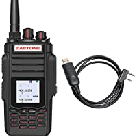 Zastone A19 Walkie Talkie 10W 999-Channel VHF/UHF Dual Band Two-Way Radio