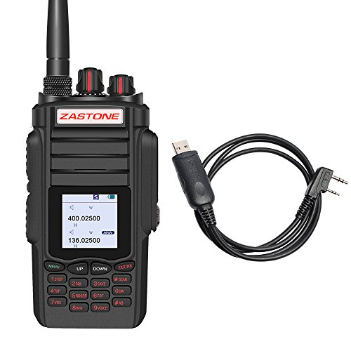 Zastone A19 Walkie Talkie 10W 999-Channel VHF/UHF Dual Band Two-Way Radio (Walkie Talkies 10 Watt)