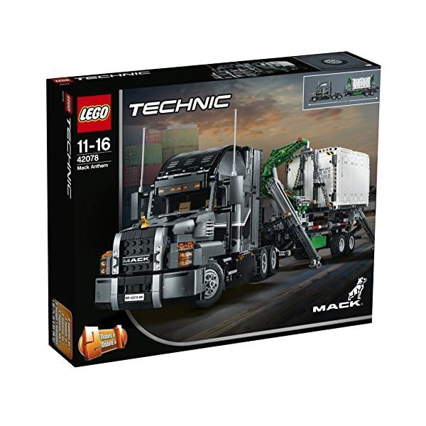 LEGO- Technic Mack Anthem Set di Costruzioni 2 in 1 con Motore a 6 Cilindri in Linea, Ricco di Dettagli Tecnici, per… 4 spesavip