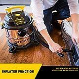 Stanley 5 Gallon Wet Dry Vacuum, 4 Peak HP