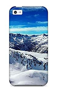 LPUXZmd2028imDnv CaseyKBrown Ice Mountains Feeling Iphone 5c On Your Style Birthday Gift Cover Case