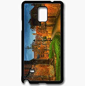 Unique Design Fashion Protective Back Cover For Samsung Galaxy Note 4 Case Europe Park Walls Hdr Black