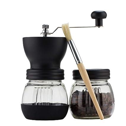 HY-pequeños electrodomésticos Molinillo de café Manual - Molinillo Lavable - Molinillo de café casero