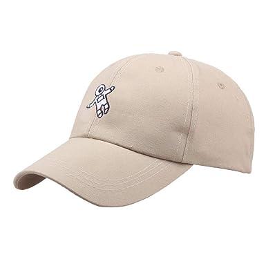 4119b58dae043 Skang Unisex Casual Fashion Solid Color Hat Cartoon Astronaut Embroidery Baseball  Cap  Amazon.co.uk  Clothing