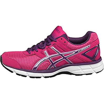346f64e75006 Womens Asics Gel Galaxy 8 Neutral Running Shoes Hot Pink Purple Silver  Girls Ladies (5.5 UK 5.5 EUR 39)  Amazon.co.uk  Shoes   Bags