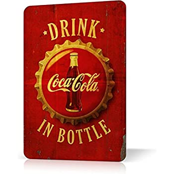 METAL TIN SIGN COCA COLA VINTAGE RETRO Vintage Poster Decor Home Bar Pub Garage