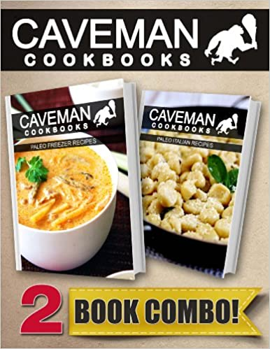 Ebook torrent descargar gratis Paleo Freezer Recipes and Paleo Italian Recipes: 2 Book Combo (Caveman Cookbooks) B00KB1L28M PDF ePub iBook