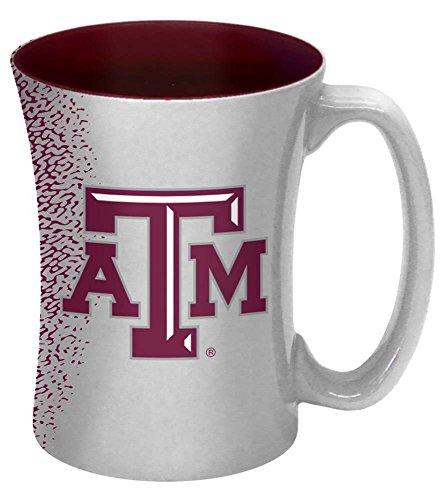 NCAA Texas A&M Aggies Mocha Mug, 14-ounce (Aggies Texas Coffee A&m)