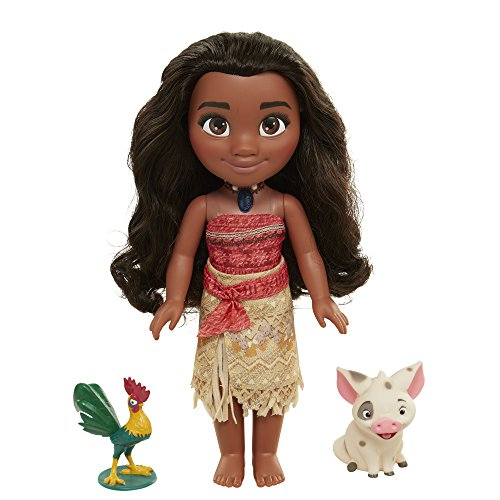 [Disney Moana Singing Adventure Doll with Friends] (South Pacific Costumes)