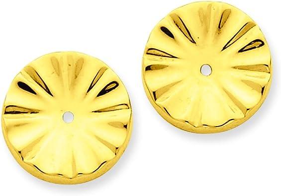 Beautiful Yellow gold 14K Earring Jacket