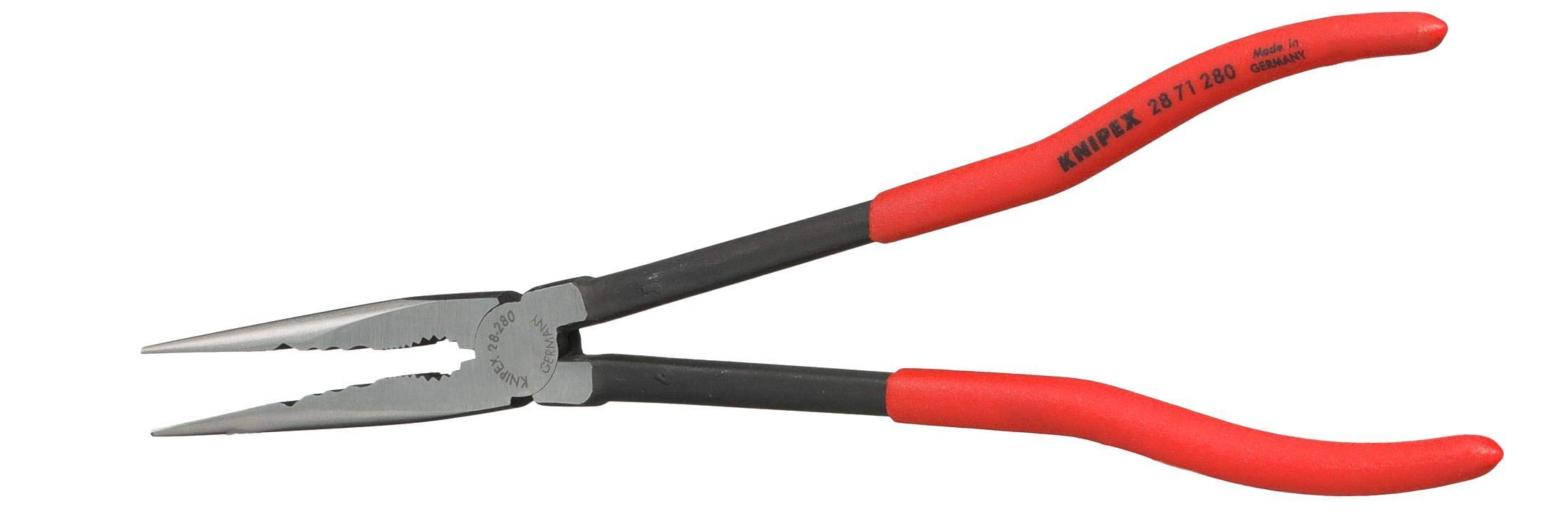 Knipex Tools 28 71 280 11'' Extra Long Needle Nose Pliers - Straight, by KNIPEX Tools