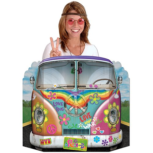 (Hippie Bus Photo Prop Party Accessory (1 count))