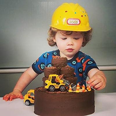 Super Digger Birthday Cake Decorating Kit Amazon Co Uk Grocery Funny Birthday Cards Online Necthendildamsfinfo