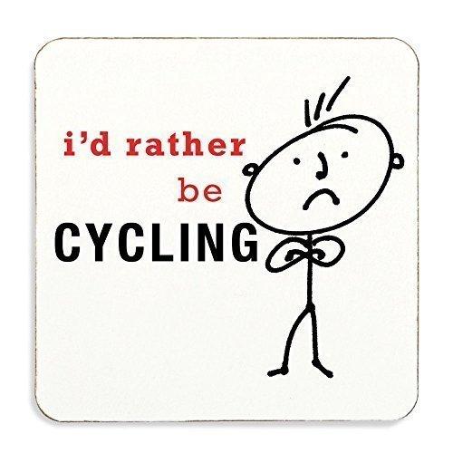 Id Prefiero Ser ciclismo Posavasos Corcho Atrás MARIDO ...