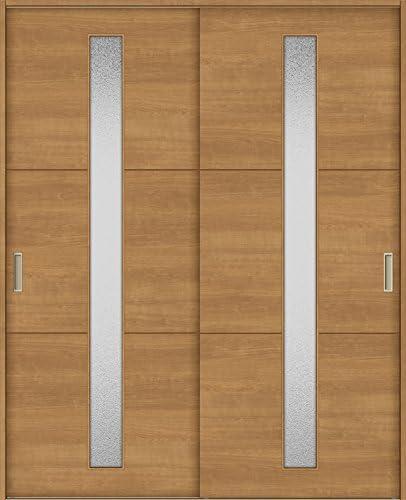 ラシッサS 室内引戸 Vレール方式 引違い2枚建て ASHH-LGD 鍵なし 1820 W:1,824mm × H:2,023mm ノンケーシング/ケーシング LIXIL リクシル TOSTEM 本体/枠色:クリエペール(PP) 枠種類:171mm幅(ノンケーシング枠) 引手:引手(シャインニッケル) 敷居:埋込敷居(A枠) 機能:ブレーキ LIXIL リクシル TOSTEM トステム
