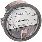 """Dwyer 6846269 2015 Magnehelic Differential Pressure Gauge, Type , 0 to 15"""" WC"""