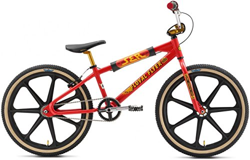 SE Floval Flyer Looptial 24 BMX Bike - 2017 24 RED