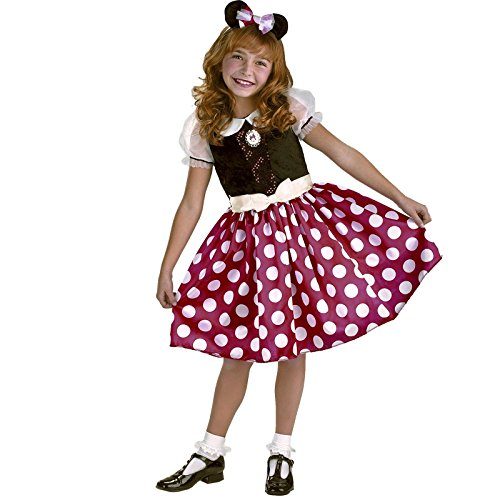 [Minnie Mouse Classic Costume Size: 10-12 Plus] (Female Mickey Mouse Costumes)