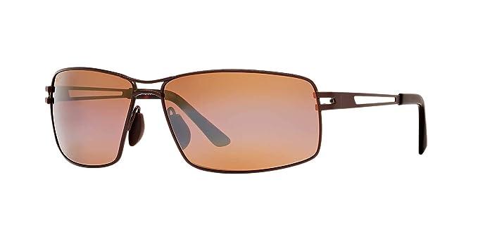 dc138532ae1df Maui Jim Mens Manu 65 Sunglasses (276) Brown Bronze Metal - Polarized -