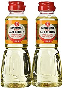 Amazon.com : Aji-Mirin, Japanese sweet cooking rice wine ...