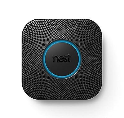 Nest S3000BWES Nest Protect 2nd Gen Smoke + Carbon Monoxide Alarm, Battery