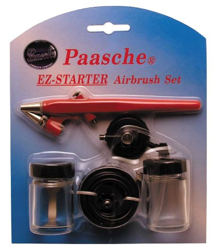 Paasche EZ-STARTER Single Action Beginner Airbrush