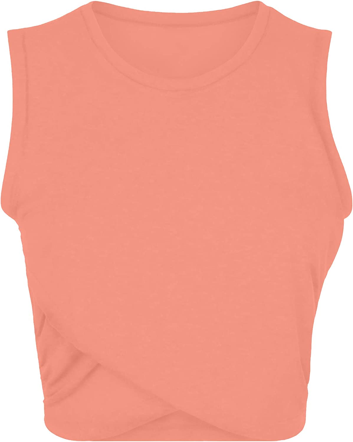 Sanutch Workout Yoga Crop Tops Gym Exercise Clothes Crop Top Workout Muslce Shirts for Women