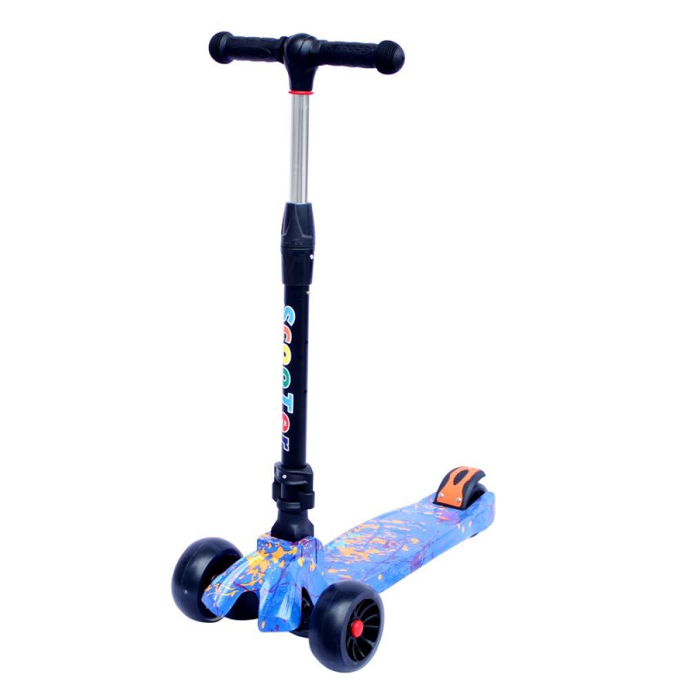 CDREAM Scooter para Niños Patinete Plegable Ruedas Grandes ...