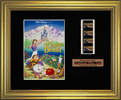 Beauty and The Beast - Disney - Framed Film Cell Picture (g)