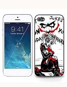Trendy Fashion Harley Quinn(Joker) Black Case For Iphone 5c