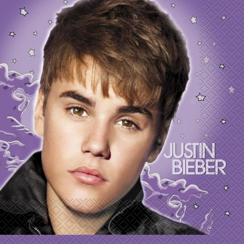 Justin Bieber Luncheon Napkins, 16ct
