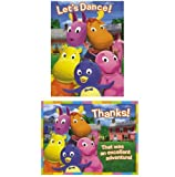 Backyardigans Invitations and Thank You Notes w/ Envelopes (8ct ea.) by Designware