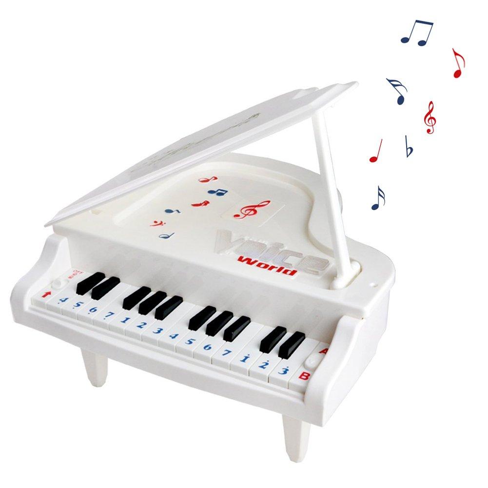 Infantil Mini Piano Juguete con Teclas Juego Electrónico con luces y Canciones
