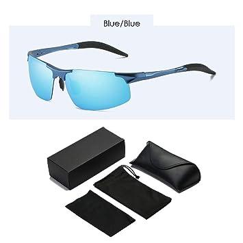 XBDOT Mens Ultra Light Deportes Gafas de Sol polarizadas UV400 Protección antirreflejos Gafas Caja Set irrompible